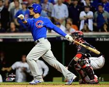 """2016 WORLD SERIES Willson Contreras """"Game 7 RBI Chicago Cubs LICENSED 8x10 photo"""