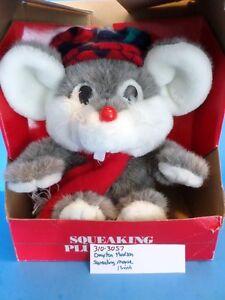 Dayton-Hudson Squeaking Mouse plush(310-3057)