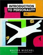 Introduction to Personality- very good - take a look now wow- hardcover p16