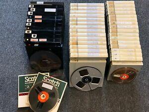 Konvolut aus 46 Tonbändern Grundig BASF Scotch