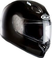 HJC FG-17 Gloss Black Full Face Motorcycle Crash Helmet RRP £159.99!
