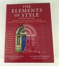 ELEMENTS OF STYLE: A PRACTICAL ENCYCLOPEDIA OF INTERIOR By Stephen Calloway