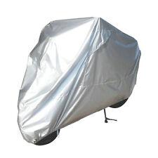 Motorcycle Cover Silver XXL Waterproof Bike Outdoor Rain Dust UV Protector