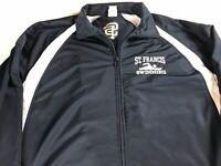 St Francis Swimming Jacket Mens XL Dri-Fit Student Alumni School Long Sleeve