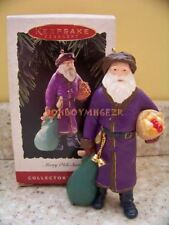 Hallmark 1995 Merry Olde Santa Claus Series Christmas Ornament