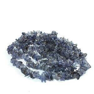 Iolite 90cm Chip Gemstone strand beads (EA2138M) crystal gem healing reiki