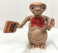 "Vintage 1982 LJN E.T The Extra-Terrestrial 4"" Poseable Figure Speak and Spell et"