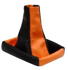 Soufflet de levier vitesse orange/noir ze pour  PEUGEOT 806