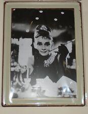Audrey Hepburn Retro Wall Art - Metal Wall Plaque-Gift Idea