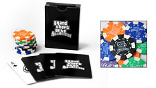 Grand Theft Auto San Andreas GTA Playing Cards Deck AND POKER CHIPS SET SEALED