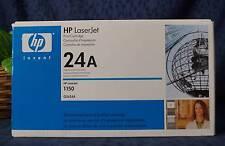 Sealed Hewlett Packard HP 2624A 24A Black Toner Cartridge Laserjet 1150 Series