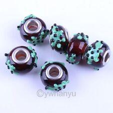 Bulk 10x Animal Lampwork Glass European Charms Beads Fit Bracelet P1142