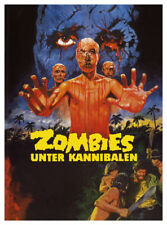 Zombies Holocaust vintage Horror movie poster print