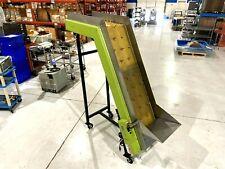 Laros Ef 540 18 66 30 Inclined Belt Conveyor 110v 18 W 77 12 Height