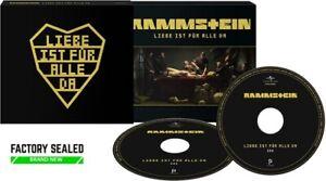 Rammstein – Liebe Ist Für Alle Da 2 x CD DELUXE Digipak Set NEW