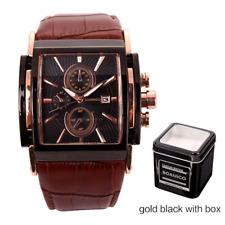 BOAMIGO men quartz watches large dial fashion casual sports watches rose gold su