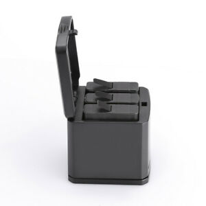 For Gopro 8/ 7/ 6/ 5 Battery Triple Charger Storage Type Charging Case