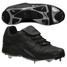 Puma Baseball Shoes-Fusion Cell Metal Kat II.Black/Black In Box US Sz 7.5 UK 6.5