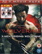 The Wolverine +X-Men Origins:Wolverine 2 Movie Pack Blu-ray Brand new and sealed