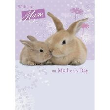 Mothers Day Card - Baby Bunny