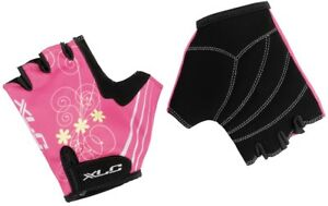 XLC Kids Princess Fingerless Mitts, Pink. 3 Sizes Available