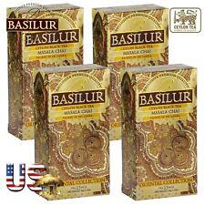 Basilur Tea Ceylon Tea Masala Chai 25 x 4 Bags Ceylon 100 Bags