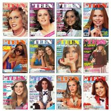'TEEN 1978 magazine collection - SCANNED - all 12 issues - COMPLETE YEAR
