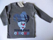 name it  Langarmshirt La-Shirt  Gr.80,86,92,98,104 Neu Victor Clown Circus