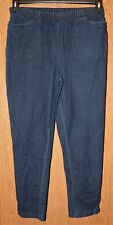 Womens Comfy Dark Wash Woman Withing Skinny Jeans Size 16W very good #1