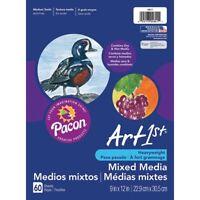 """Art1st Mixed Media Art Paper - 9x12""""  - 9X12"""", 60 Sheets"""