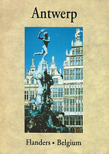Antwerp Flanders Belgium English Paperback Book Travel Guide