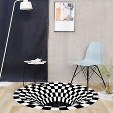 Optisch 3D Effekt Teppich Teppiche Matte Bodenmatte Wohnzimmer Arbeitszimmer RT