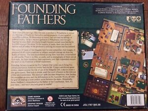 Founding Fathers Jolly Rodger Games out-of-print, VG+ condition, Ready to Play!