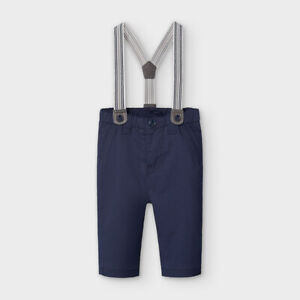 New Baby Boy Mayoral Trousers With Braces , Age Newborn , (2565)