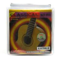 10Sets Alice Classical Guitar Strings Black Nylon Coated Copper Alloy Wound 107