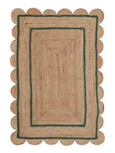 6x9 feet square scalloped rugs braided beautiful rug area jute rug floor rugs