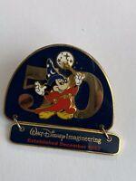 WDI – 50Th Anniversary #4 – Mickey Mouse Sorcerer Dangle Disney Pin LE (B4)