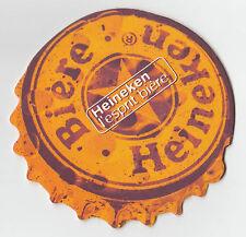 ★ HEINEKEN ★  Esprit Bière #6 Sous bock coaster deckel