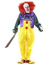 Smiffys Smiffy's - Costume per Travestimento da Clown Horror Adulti L
