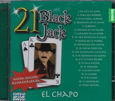 El Chapo de Sinaloa 21 Black Jack CD New Nuevo Sealed