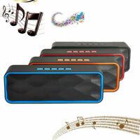 Portable Bluetooth Wireless Speaker Waterproof Power Bank Bass Subwoofer NFC New