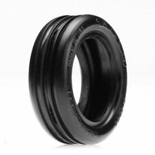 LOSA7202S Wide Body Rib Front Buggy Tires (Silver) (2) W/FOAM LINERS LOSI