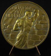 Medaille Léon Jouhaux révolutionnaire libertaire Peace Nobel Price 1951 medal
