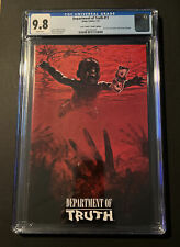 """DEPARTMENT OF TRUTH #11, NIRVANA """"NEVERMIND"""" HOMAGE, TRADE, CGC 9.8, WHITE PAGES"""