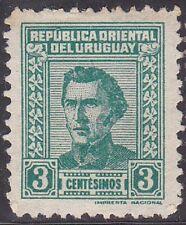 Uruguay Stamp 1950 SC #572 - Artigas 3 cent. mint $$$