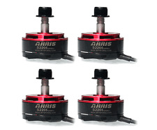 4PCS ARRIS S2205 2300KV RC Brushless Motor for FPV Racing Drones (2 CW + 2 CCW)