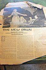 Vintage Newspaper  Illustrated Sunday Magazine Sept. 11,1917