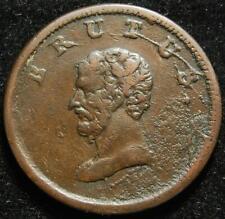Walthamstow British Copper Company BRUTUS halfpenny token ND 19th century