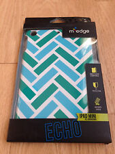 New Medge Echo Green White Dual Layer Hybrid Case Cover For Apple iPad Mini