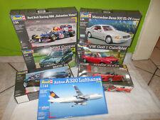 Revell Modelbausätze 1:24 Autos und 1:144 Airbus